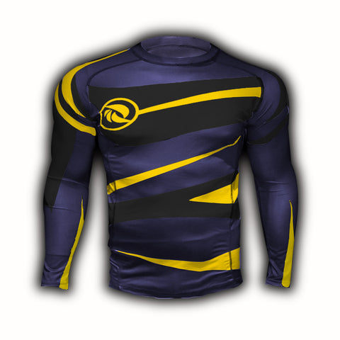 Midnight Gold Urban Samurai Rashguard