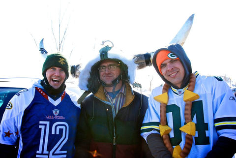 Green Bay Packers Fans Tailgating