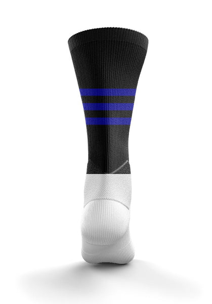 Fitz Navy Blue Mid Socks - Fitz Hurleys