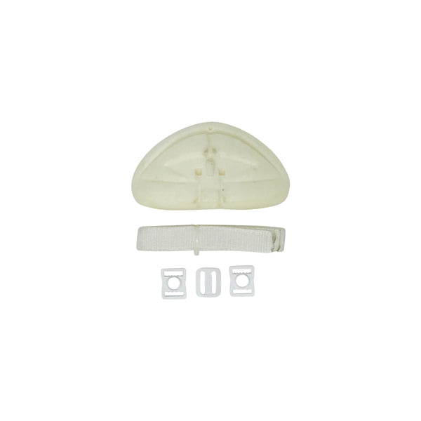 White Replacement Chin Pad Pack - Fitz Hurleys