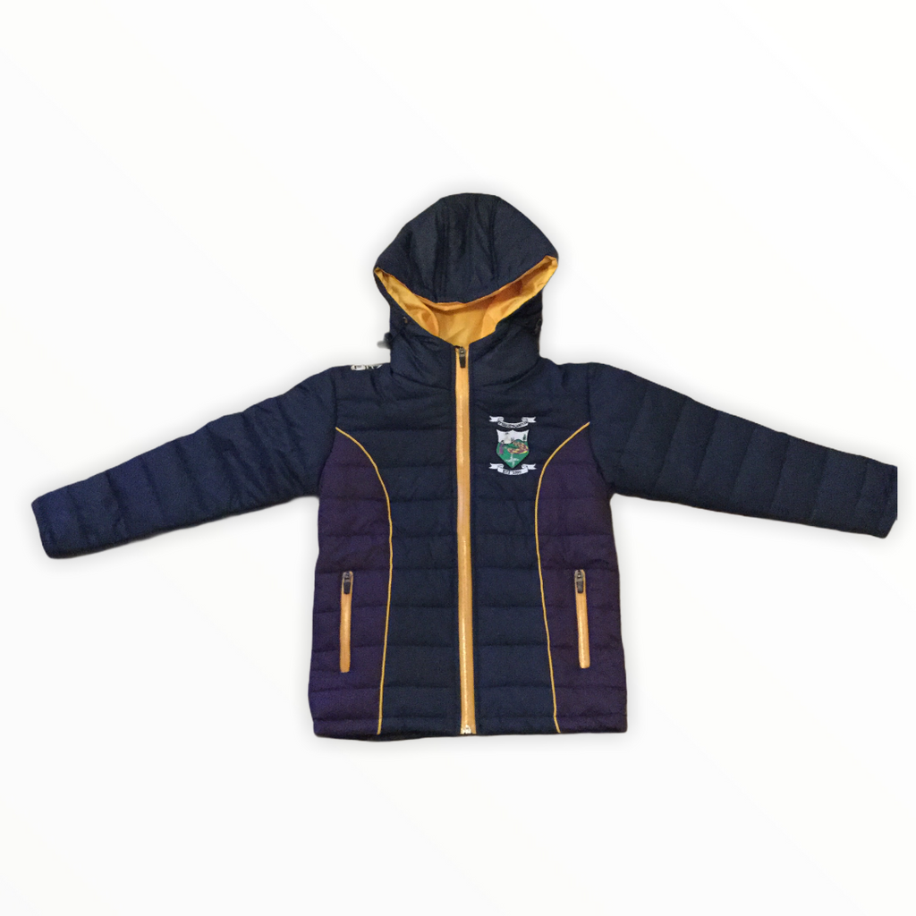 St. Brigid's Long Sleeve Puffa Jacket