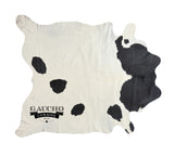 White & Black Cowhide