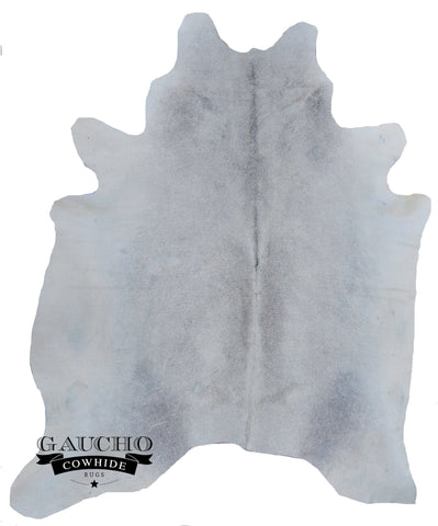 Unique Grey & White Cowhide