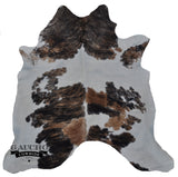 One of a Kind Tricolor Cowhide