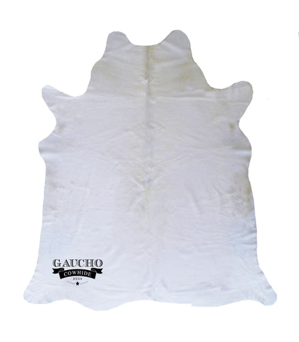 Ivory White Cowhide