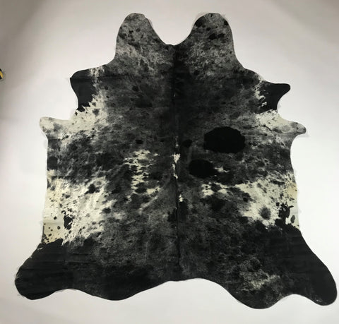 ANNUAL SALE  - Snowie Black Cowhide (Cod 1011)