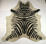 Copy of ANNUAL SALE  - Zebra Printed Cowhide (Cod 1009)