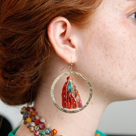 Encircled Kantha Hoops