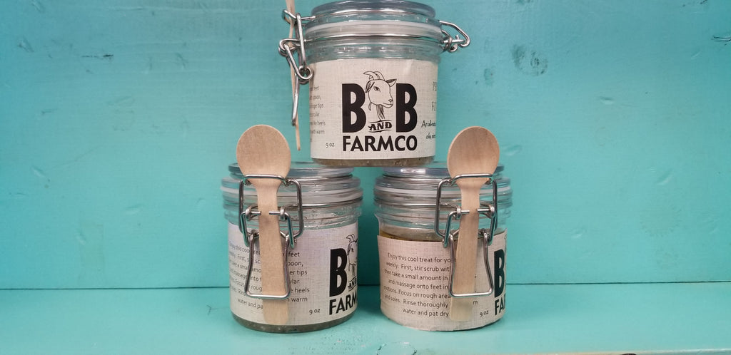 B&B Farmco Citrus Tea Scrub