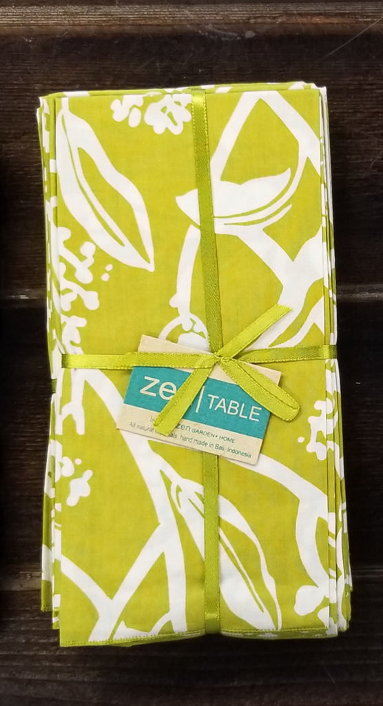 Frangipani Napkin, Set of 4