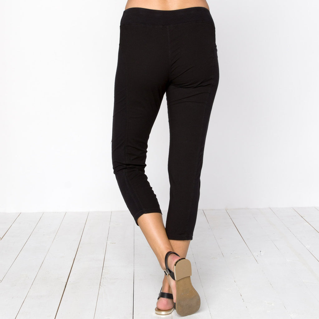 Ruched Crop Leggings