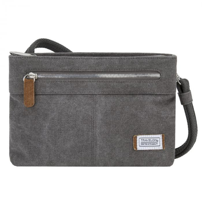 Heritage Small Crossbody - Pewter