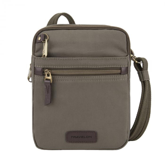Courier Small Slim - Stone Gray
