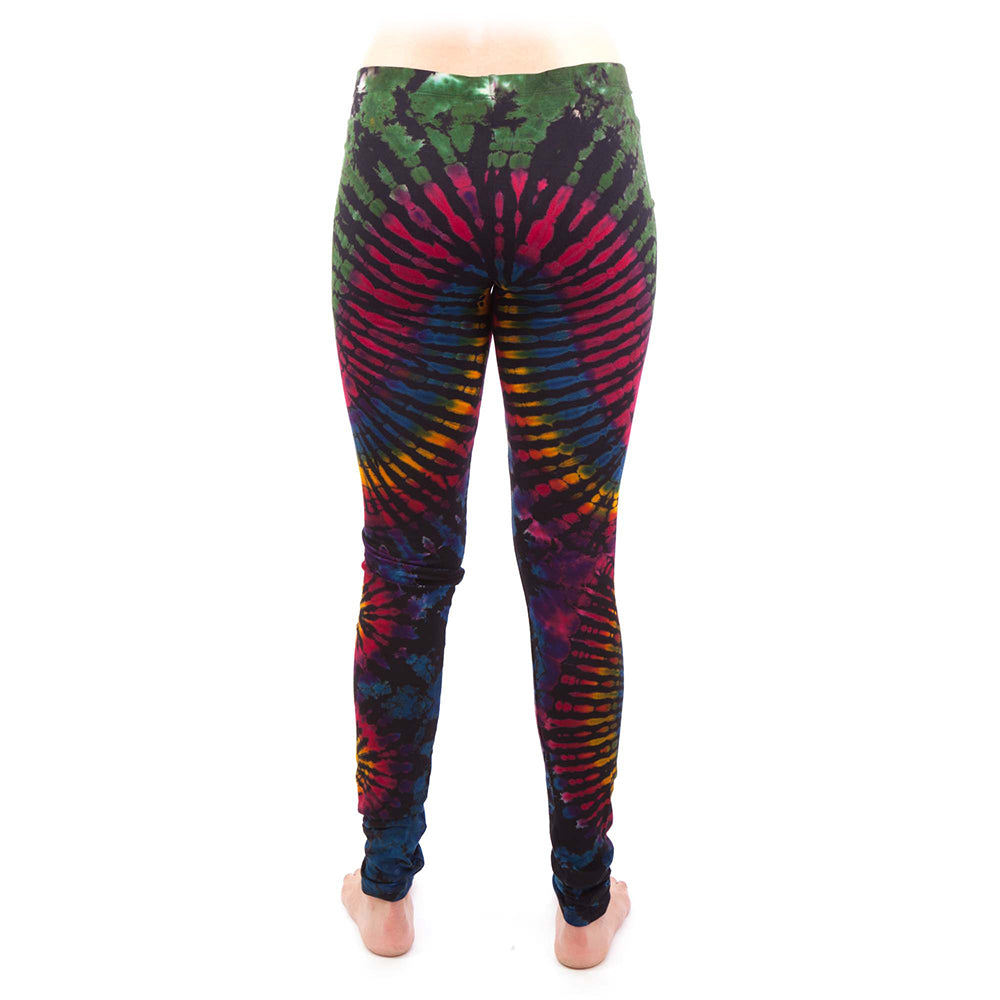 Rainbow Tie-Dye Leggings