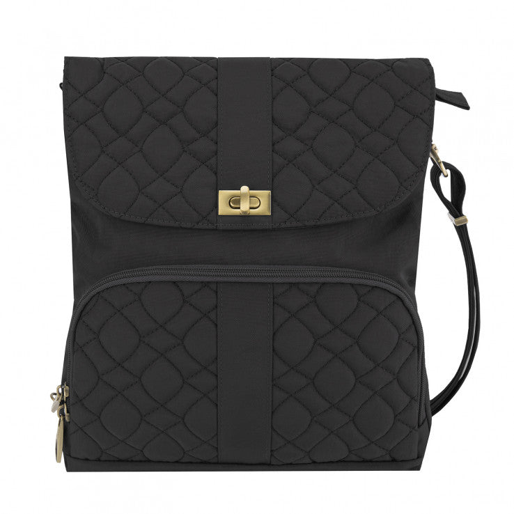 Signature Quilted Messenger Bag