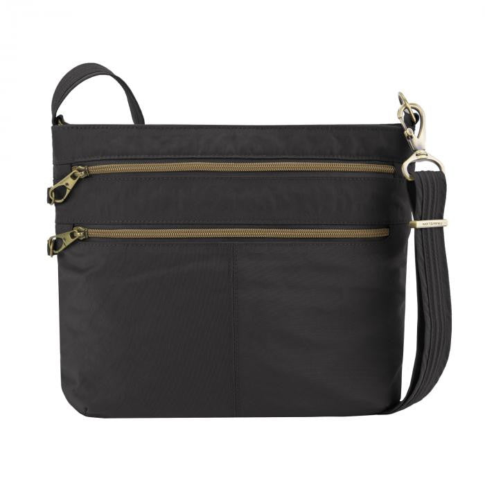 Signature Double Zip Crossbody