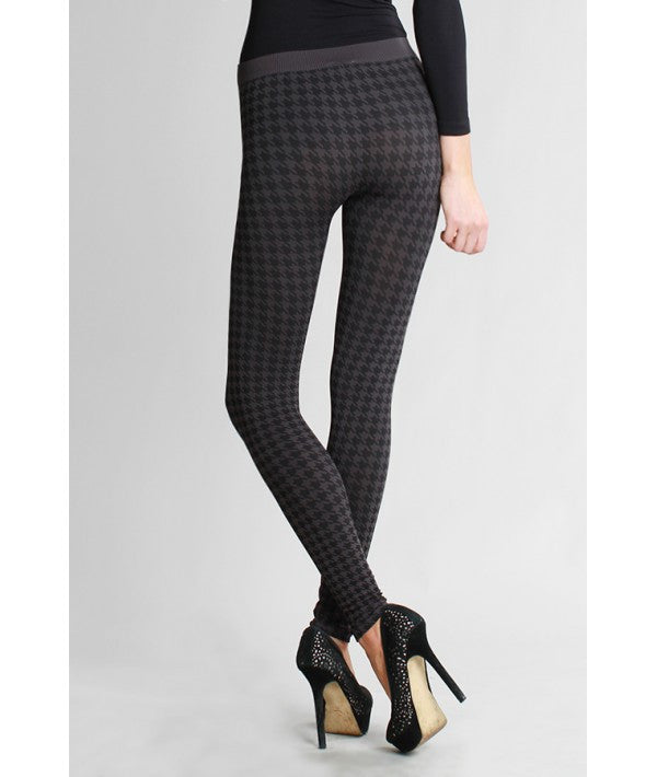 NikiBiki Houndstooth Print Leggings