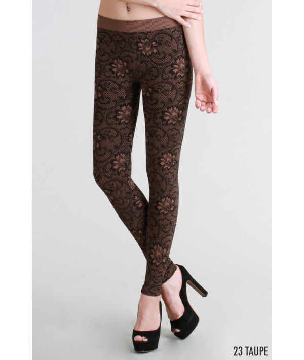 NikiBiki Floral Leggings