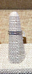 Textured Silver 2-stack Ring