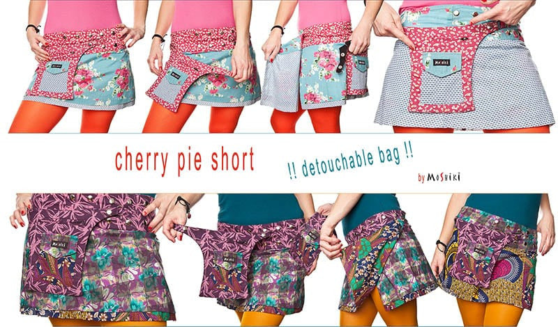 Cherry Pie Pocket Skirt