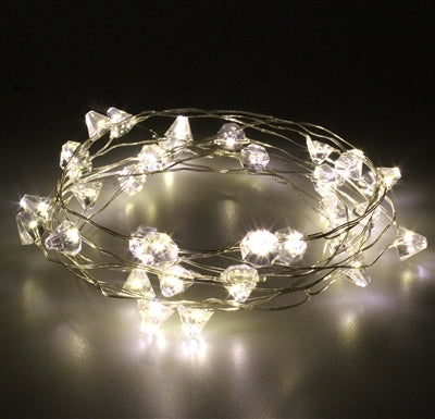 Diamond Silver Wire Lights