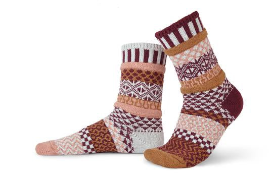 Amaranth Adult Cotton Sock