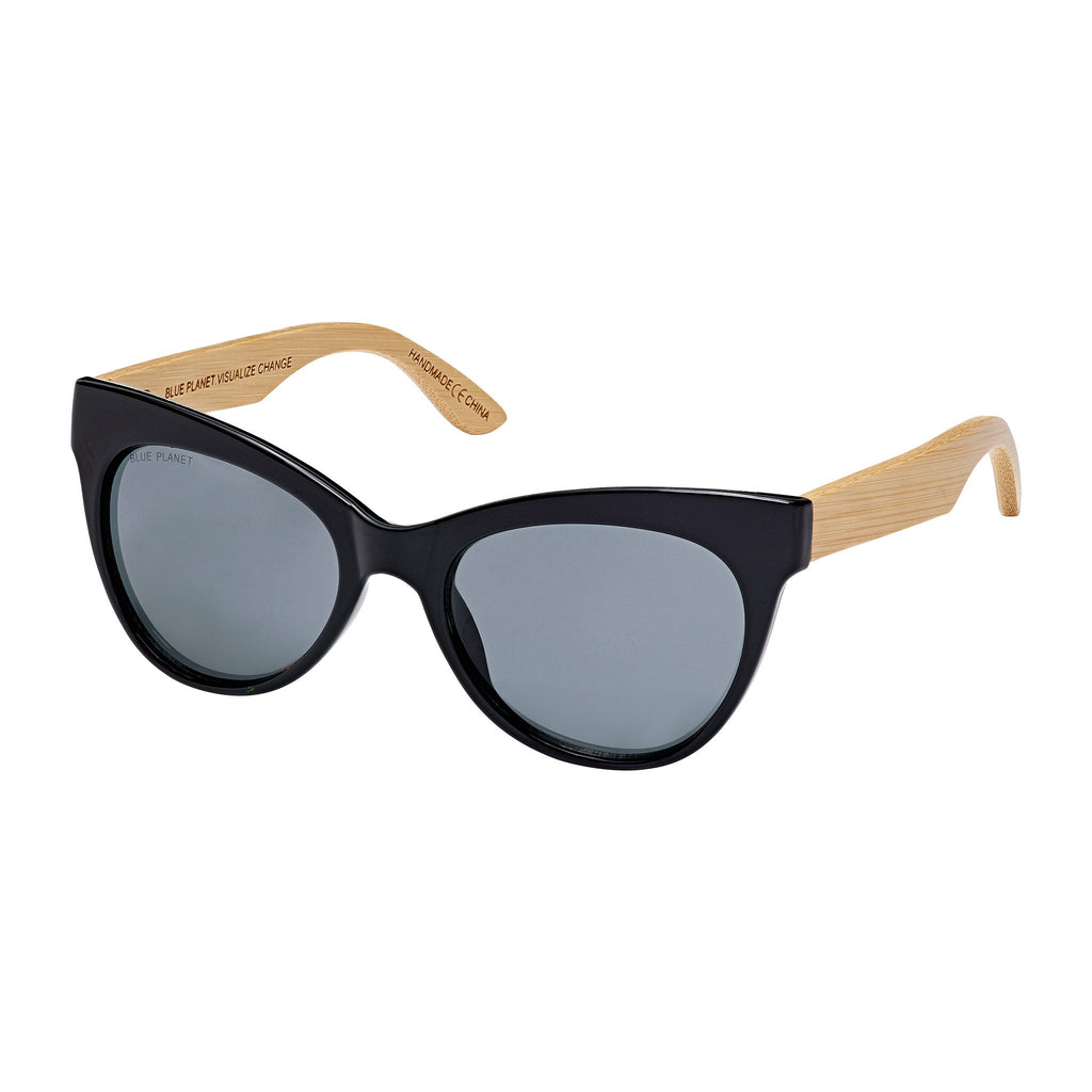 Bettie Bamboo Sunglasses