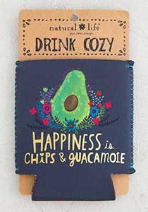 Guac & Happiness Drink Cozy