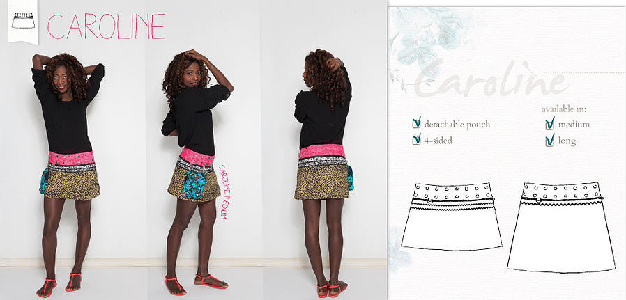 Caroline 4-sided Zand Skirt