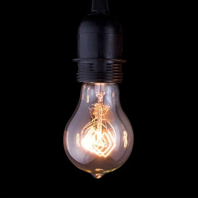 Antique Filament Light Bulb Quad