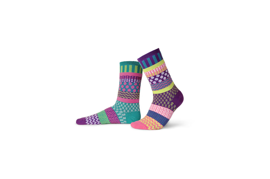 Dahlia Lightweight Adult Cotton Socks