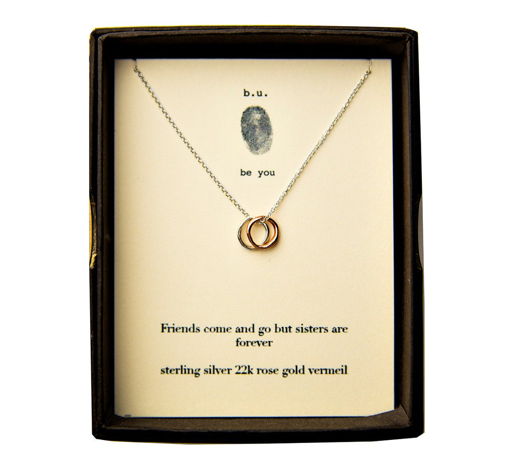 B.U. Necklace: Sisters are Forever