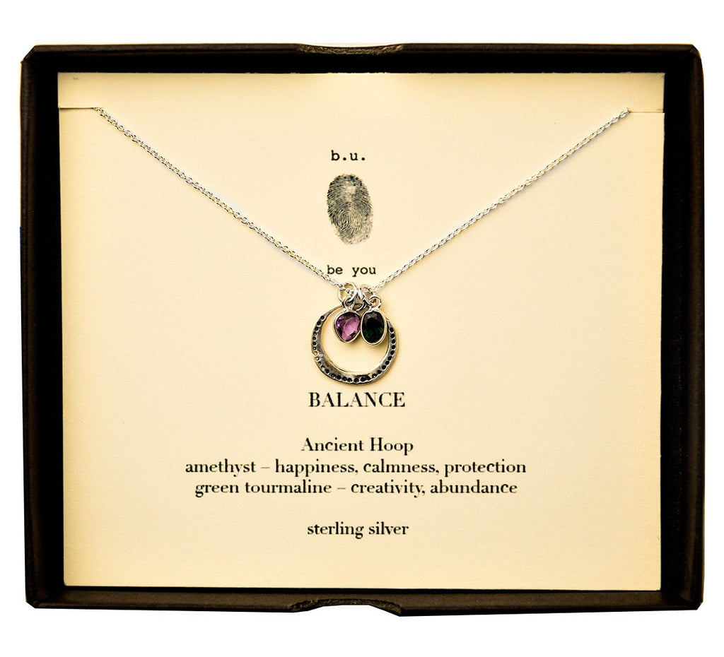 Tiny Charm Necklace: Balance