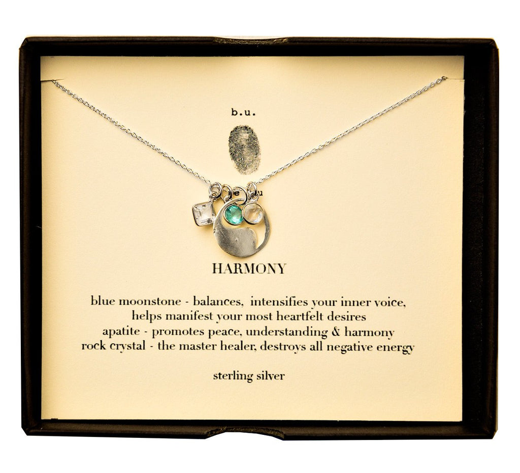 Tiny Charm Necklace: Harmony