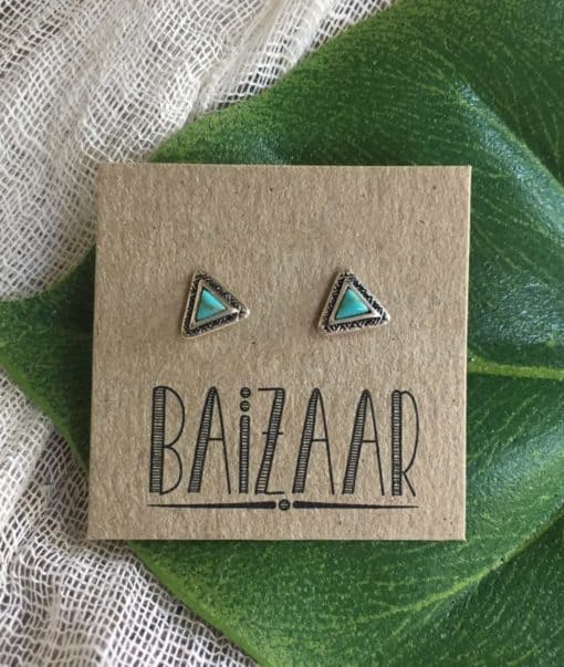 Triangle Stud Earring