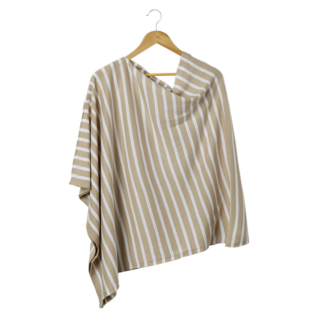 Nautical Stripes Poncho