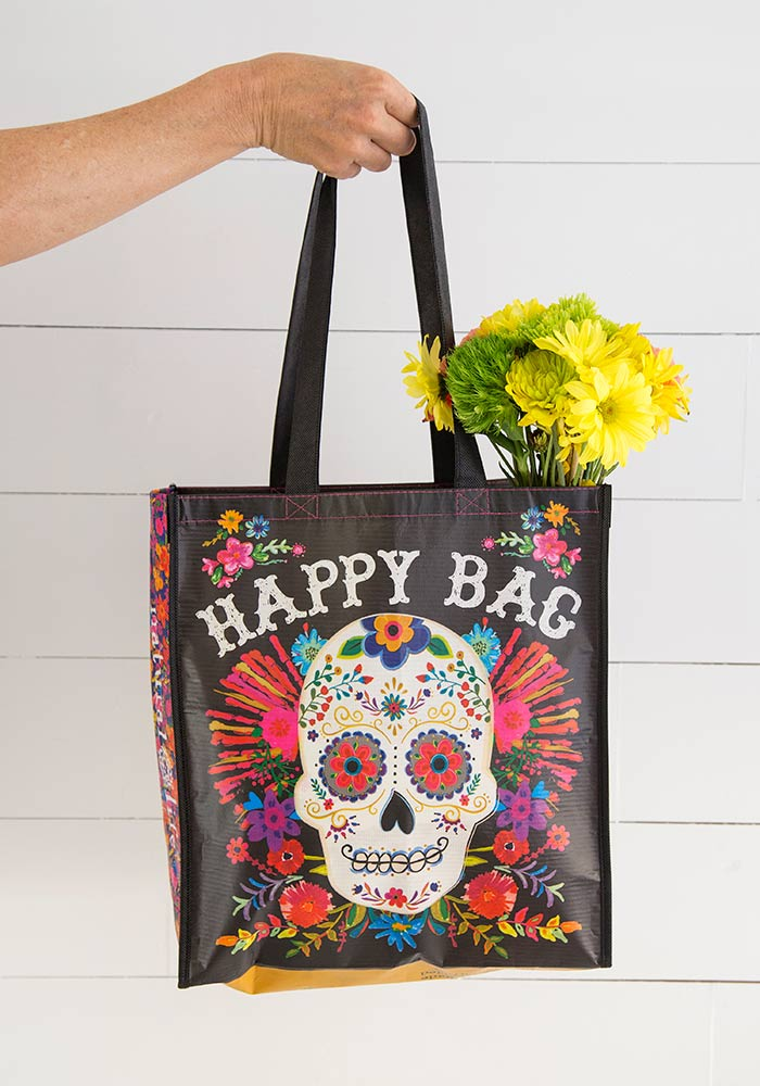 Happy Sugar Skull Bag