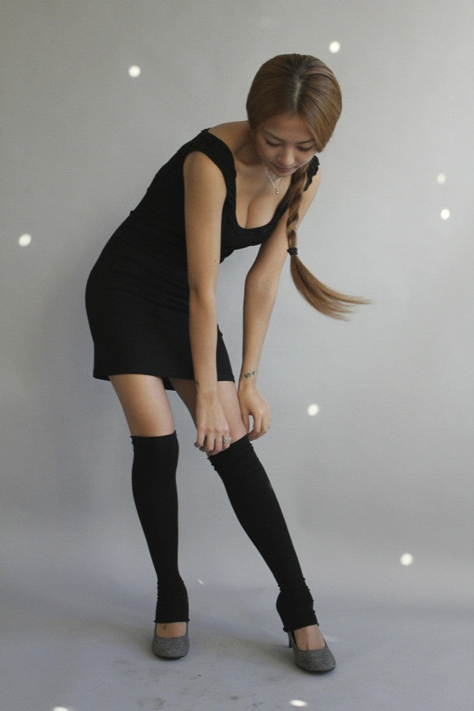 Bamboo Footless Stockings