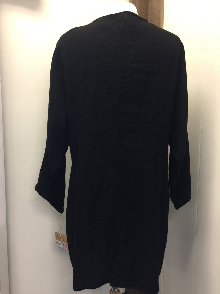 Tunic with Pleated Front