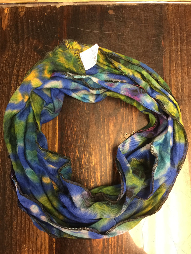 Tie-Dye Necklace Scarf
