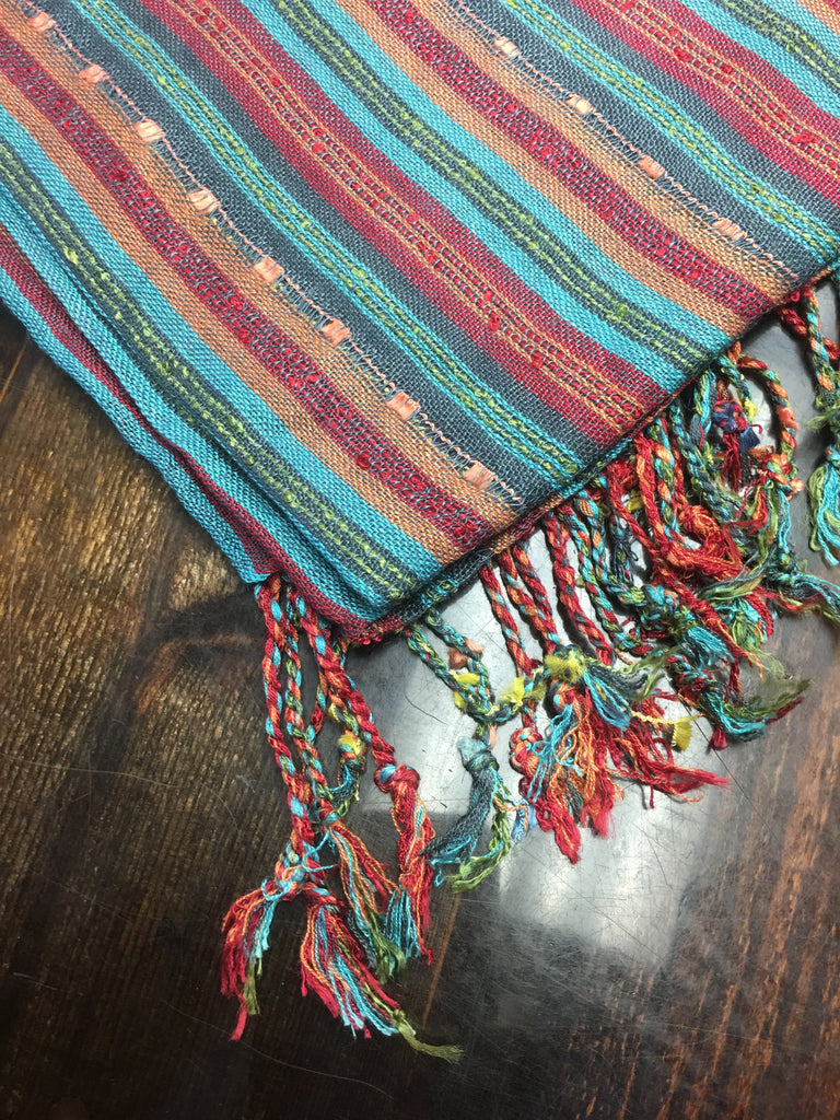 Multi Colored Scarves