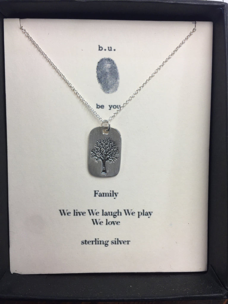 Tiny Charm Necklace: Family