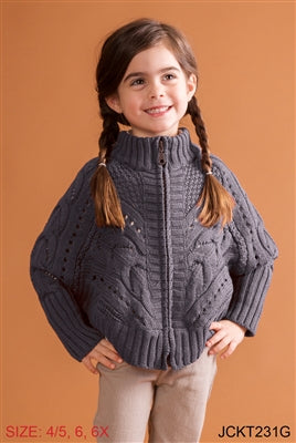 Ski Lodge Sweater for Girls