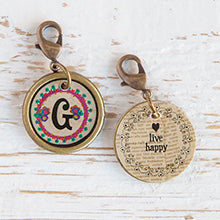 Vintage Initial Charms