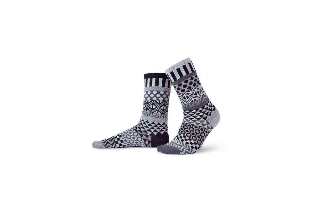 Midnight Lightweight Adult Cotton Socks