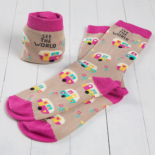 See The World Socks