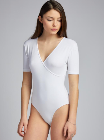 Bamboo Wrap Body Suit (Leotard)