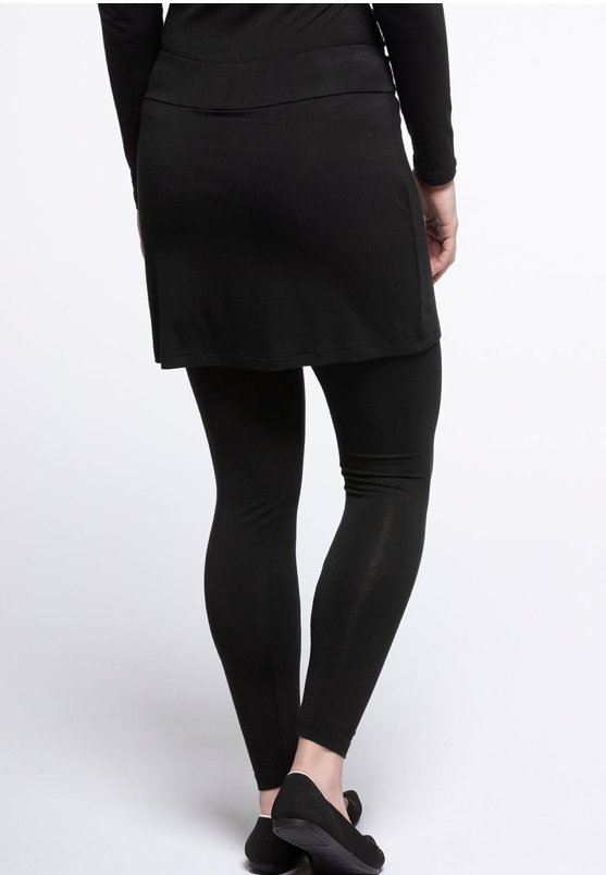 Bamboo Skirt Leggings