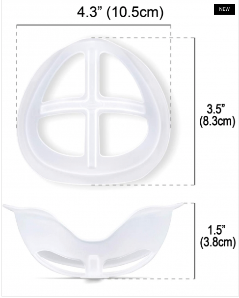 Face Mask Inner Support Frame Silicone Bracket