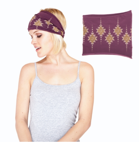 Organic Cotton OM Headband